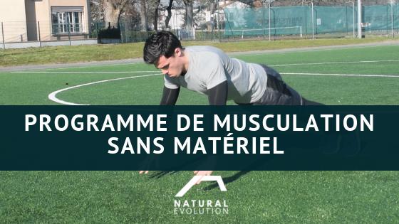 Musculation Football : Programme sans matériel.